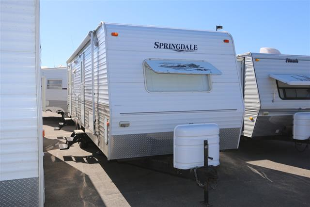 Used 2005 Keystone Springdale 286RLDS Travel Trailer For Sale
