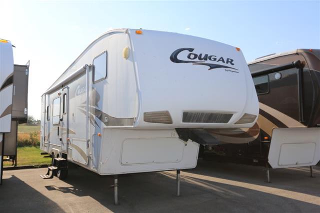 Used 2008 Keystone Cougar 292RKS Fifth Wheel For Sale