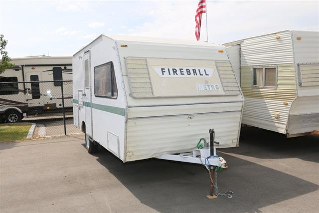 Used 1982 Fireball Fireball 18 Travel Trailer For Sale