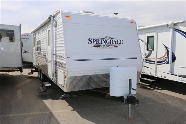 Used 2007 Keystone Springdale 250RKS Travel Trailer For Sale