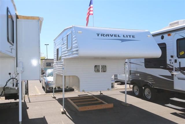 Used 2007 Travel Lite RV Lite 800SBX Truck Camper For Sale