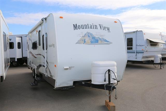 Used 2008 Skyline Mountain View 2511 Travel Trailer For Sale
