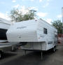 Used 2002 Forest River Sandpiper F21 Fifth Wheel For Sale