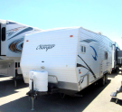 Used 2008 West Coast Charger 25F Travel Trailer Toyhauler For Sale