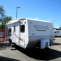 Used 2008 Thor Vortex 23FS Travel Trailer Toyhauler For Sale