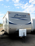 Used 2012 Crossroads Zinger 25SB Travel Trailer For Sale