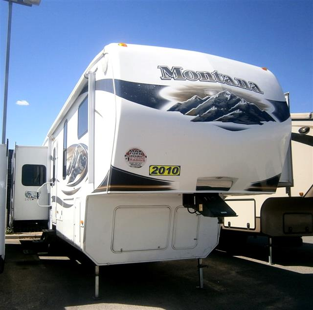 Used 2010 Keystone Montana 3615 Fifth Wheel For Sale