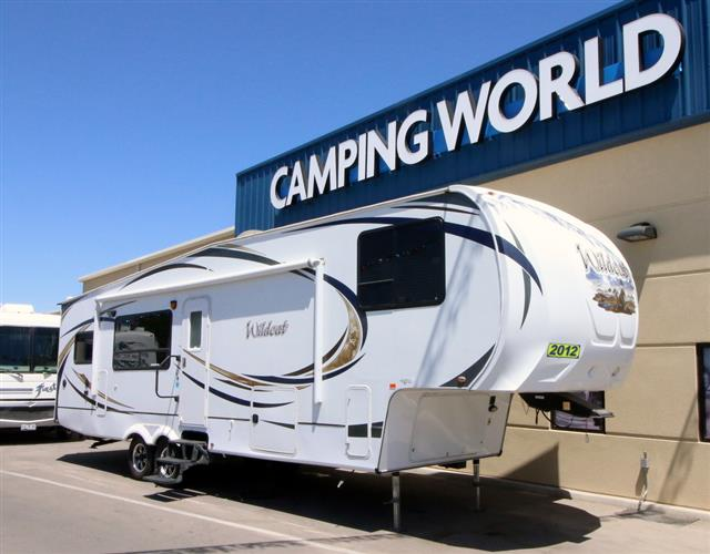 Used 2012 Forest River Wildcat 322RK Fifth Wheel For Sale