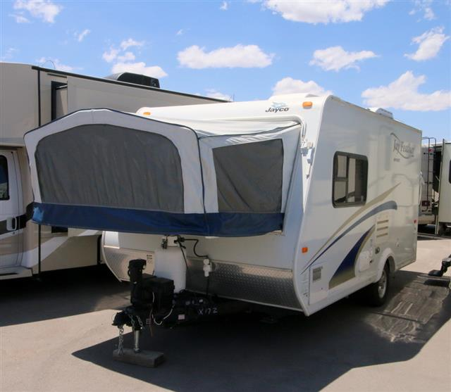 Used 2011 Jayco Jay Feather Sport X17Z Travel Trailer For Sale