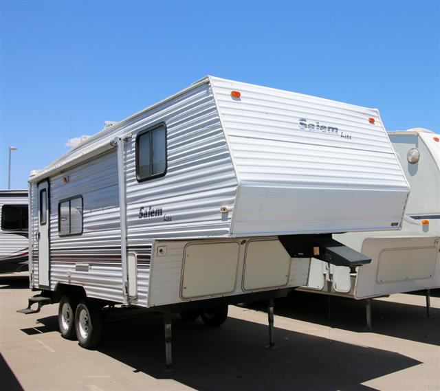 Used 2002 Forest River Salem 21RK Fifth Wheel For Sale