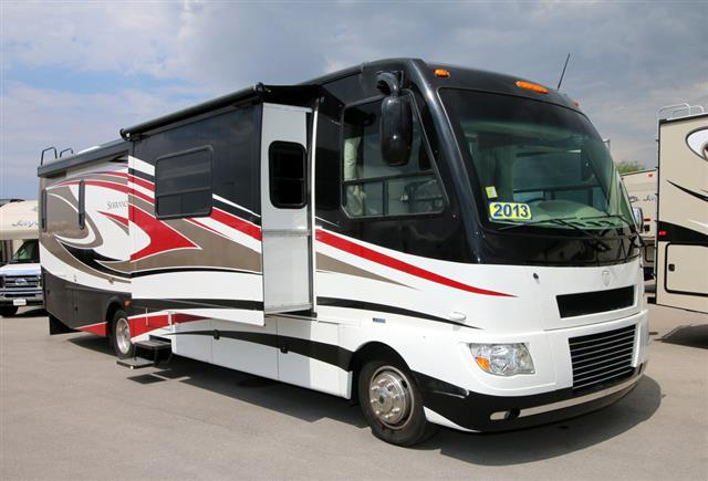 Used 2012 Thor SERRANO 33A Class A - Diesel For Sale
