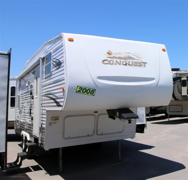 Used 2008 Gulfstream Conquest 24FTBS Fifth Wheel For Sale
