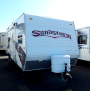 Used 2008 Forest River Sandstorm 23FBSPL Travel Trailer Toyhauler For Sale