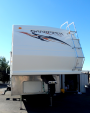 Used 2007 Sandpiper Sport SPORT Fifth Wheel Toyhauler For Sale