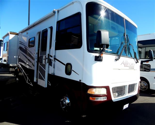 Buy a Used Tiffin Allegro in Vacaville, CA.