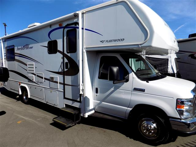 Used 2011 Fleetwood Jamboree 28Y Class C For Sale