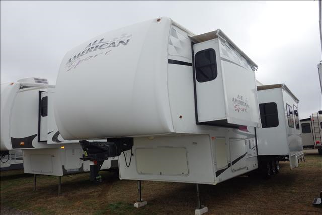 Used 2007 Forest River All American Sport 375CKDS Fifth Wheel Toyhauler For Sale
