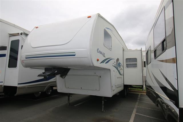 Used 2002 Keystone Cougar 276 SOLD AS IS Fifth Wheel For Sale