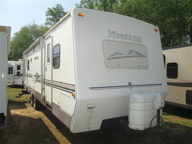 Used 2001 Keystone Moountaineer 315RLS(AS-IS) Travel Trailer For Sale