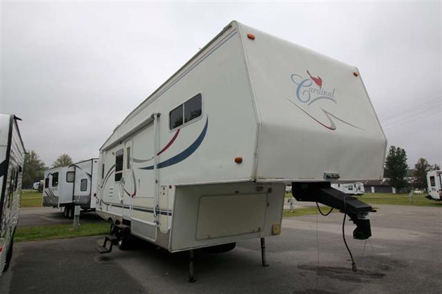 Used 2002 Cardinal Cardinal 28(AS-IS) Fifth Wheel For Sale