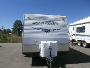 Used 2008 Forest River Sierra 23FLSPL Travel Trailer Toyhauler For Sale