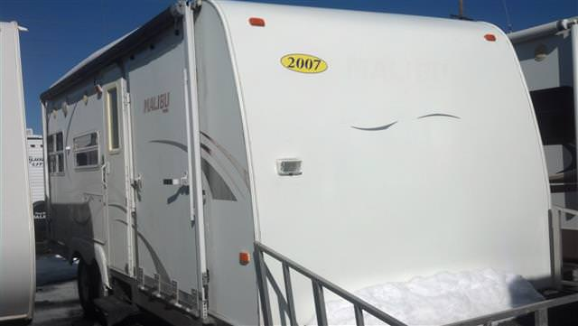 Used 2008 Skyline MALIBU 2311 Travel Trailer For Sale