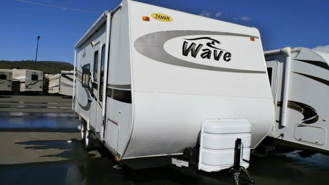 Used 2008 Thor Wave 22RB Travel Trailer For Sale