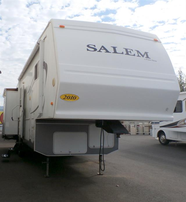 Used 2010 Forest River Salem 30CKSS Fifth Wheel For Sale