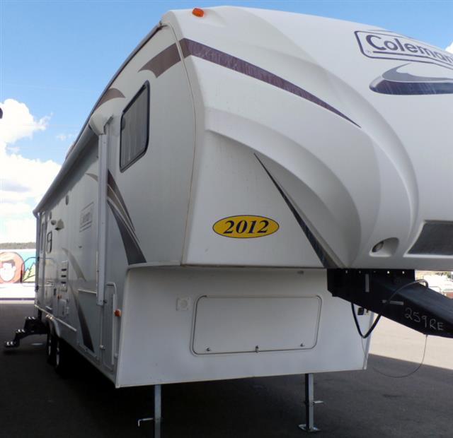 Used 2012 Coleman Coleman 259RE Fifth Wheel For Sale