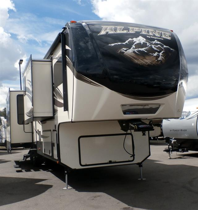 New 2016 Keystone Alpine 3590RS Fifth Wheel For Sale