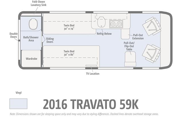 New 2016 Winnebago TRAVATO 59K Class B For Sale