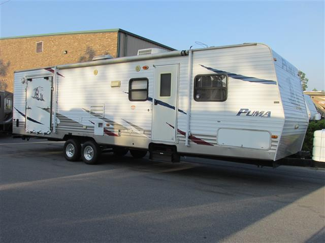 Used 2009 Palomino Puma 30THSS Travel Trailer Toyhauler For Sale