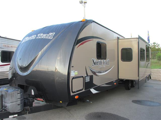 Used 2014 Heartland Northtrail 33TBUD Travel Trailer For Sale