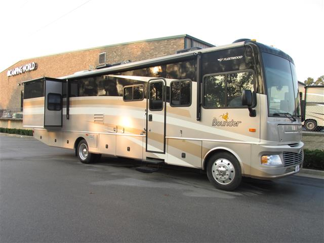Used 2007 Fleetwood Bounder 36Z Class A - Gas For Sale