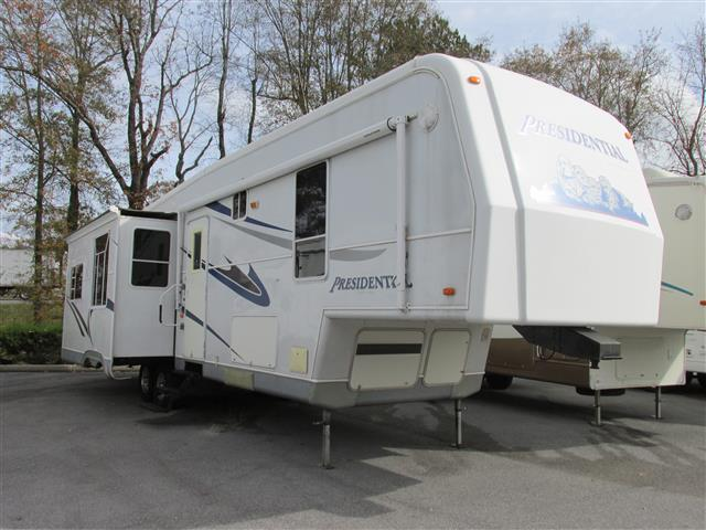 Used 2004 Holiday Rambler Presidential 36RLT Fifth Wheel For Sale