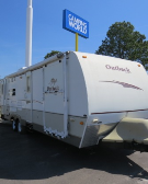 Used 2008 Keystone Outback 28KRS Travel Trailer Toyhauler For Sale