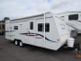 Used 2007 Jayco Feather 23B Hybrid Travel Trailer For Sale