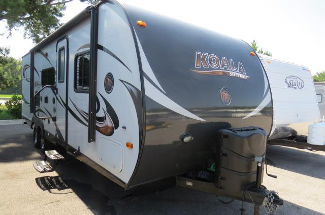 Used 2014 KOALA KOALA      24RBK Travel Trailer For Sale