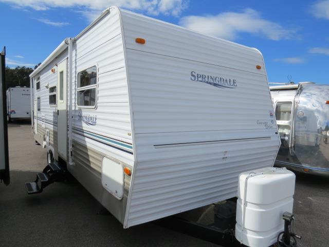 Used 2003 Keystone Springdale 26RBHGL Travel Trailer For Sale
