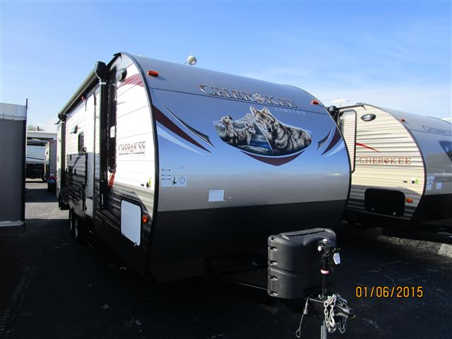 New 2015 forest river cherokee travel trailer for sale in winter garden fl wga542144 for Camping world winter garden fl