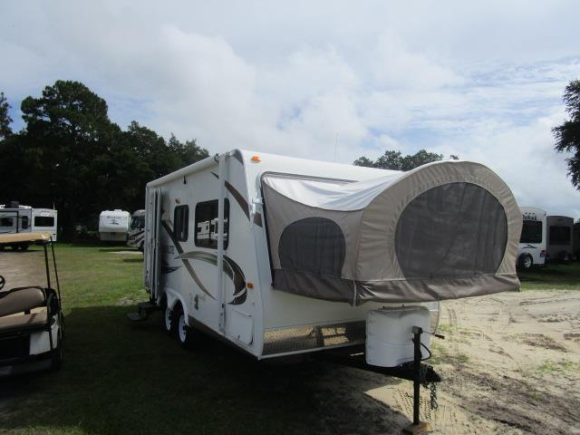Used 2010 Thor Aerolite 185 Hybrid Travel Trailer For Sale
