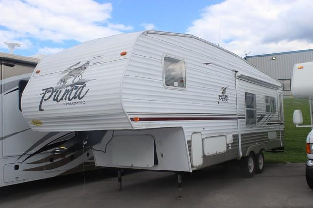 Used 2006 Palomino Puma 29RL Fifth Wheel For Sale