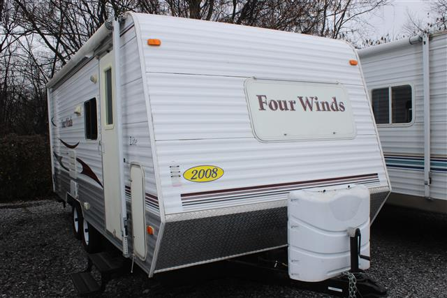 Used 2008 Fourwinds Four Winds 18F Travel Trailer For Sale