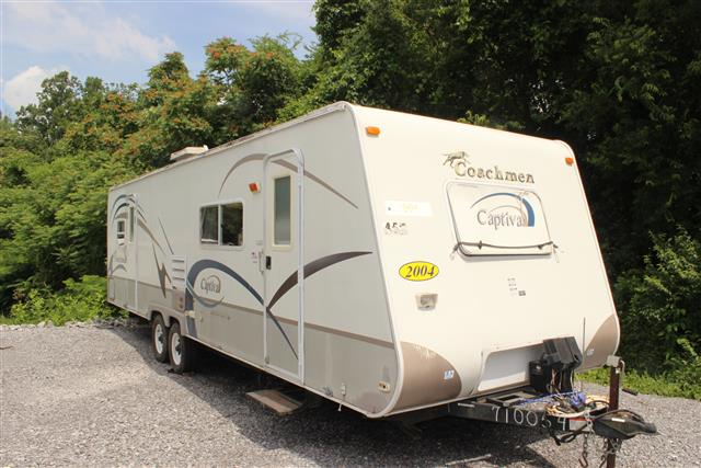 Used 2004 Coachmen Captiva 296KS Travel Trailer For Sale