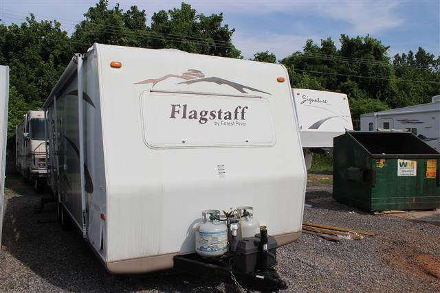 Used 2006 Forest River Flagstaff 26RKS Travel Trailer For Sale
