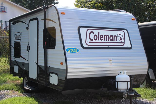 Used 2015 Coleman Coleman CTS515BLT Travel Trailer For Sale