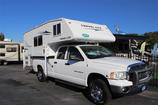 Used 2007 Travel Lite RV Ultra 1100RX Truck Camper For Sale