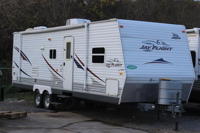 Used 2008 Jayco Jayflight 28RBS Travel Trailer For Sale