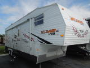 Used 2008 Forest River Wildwood Le 32-SRV Fifth Wheel Toyhauler For Sale