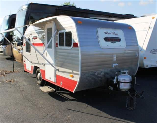 Used 2014 RIVERSIDE RV WHITE WATER 155 Travel Trailer For Sale